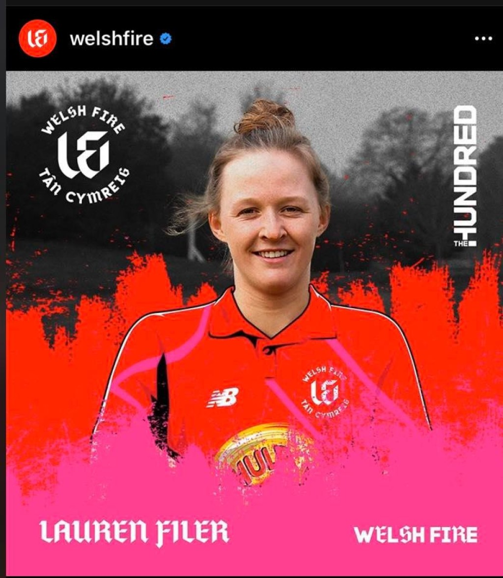 Lauren selected for Welsh Fire