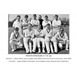 History of Weston-super-Mare C.C from 1958 - 1966